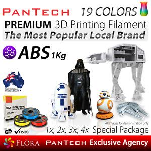 3D Printing Filament ABS Premium PanTech 1KG 1.75 mm Spool Reel for 3D Printer