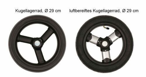 1 Paar Andersen Rad Räder Ø 29 cm Kugellager Luft Royal Tura Shopper 2 Stück