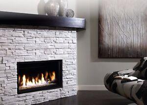 Kingsman Zdvrb3622 Direct Vent Gas Fireplace Linear 36 Modern Zero
