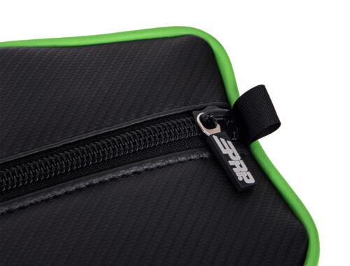 PRP Black//Green Vinyl Stock Door Bag PAIR Textron Wildcat XX