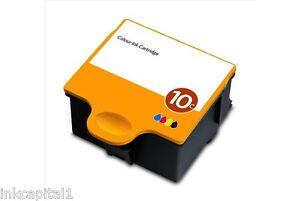 2-X-Color-Series-10-De-Inyeccion-De-Tinta-Cartuchos-Compatibles-Con-Kodak-Impresoras