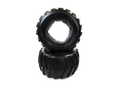 Rispettoso 08009 Coppia Di Gomme + Inserto Spugna 1/10 Off-road Truck Tyre Himoto