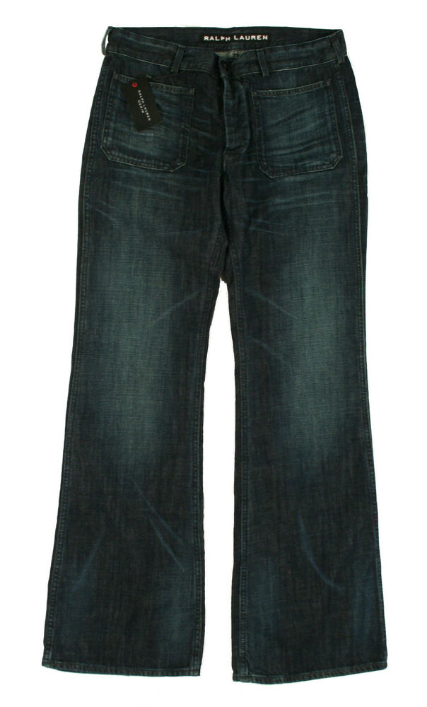 Ralph Lauren Black Label Admiral Coupe Ample Jean Neuf
