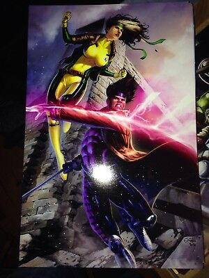 11x17 Glossy Print In Toploader Relieving Heat And Thirst. Gambit/rogue Other Original Comic Art