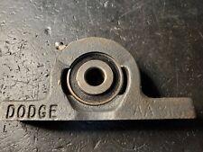 PART NUMBER 060360 DODGE TYPE E PILLOW BLOCK 1 3//16