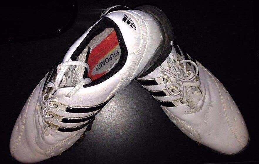 Zapatos Powerband  De Golf Adidas Powerband Zapatos 3 para hombre /2 Impermeable Ajuste De Espuma 58e5db