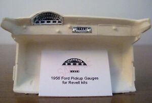 1956-FORD-F-100-PICKUP-TRUCK-GAUGE-FACES-for-1-25-scale-REVELL-KITS