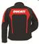 Ducati-Corse-Tex-2-Stoffjacke-Rot-Schwarz-Groesse-52 Indexbild 2
