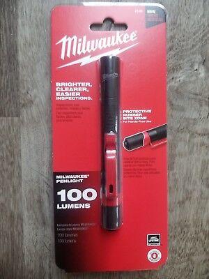 Milwaukee High Definition Aluminum Inspection Flashlight w// Pocket Clip #2105