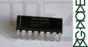 1 x MAX232CPE RS232 Interface IC 5V MultiCh RS232 DriverReceiver - Basingstoke, United Kingdom - 1 x MAX232CPE RS232 Interface IC 5V MultiCh RS232 DriverReceiver - Basingstoke, United Kingdom