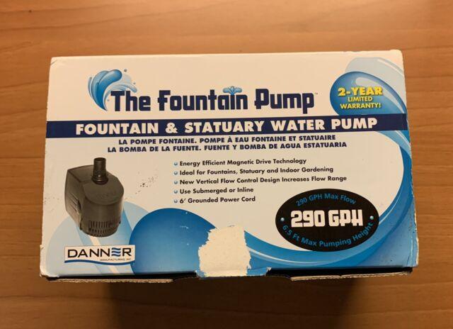 Danner Manufacturing, Inc. 40323 Growers Pump, 290 GPH, 40323, black