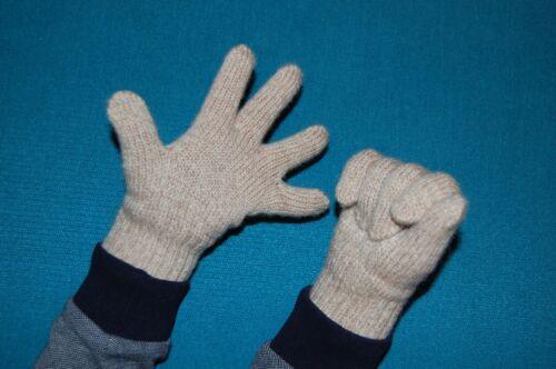 100/% MERINO wool children fingered gloves mittens arm warmers knitted baby kids