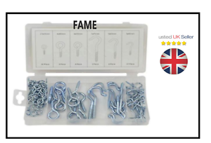80 pc hook and eye bolt assortment in case