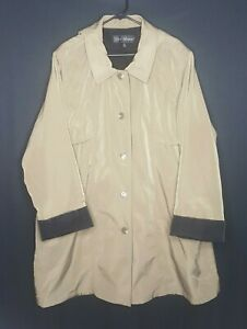 Vintage-Misty-Harbor-Mens-2XL-Trench-Coat-Wear-In-Good-Health-Overcoat-Lined-XXL