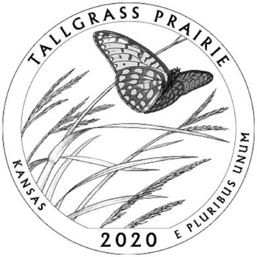 NFString 10-rolls 2020 Kansas Tallgrass Philadelphia-mint West Point