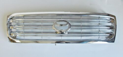 New Front Grill Chrome All Plated For Toyota Land Cruiser Amazon 4.2TD 2002-2005