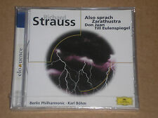 RICHARD STRAUSS - ALSO SPRACH ZARATHUSTRA / DON JUAN - CD SIGILLATO (SEALED)