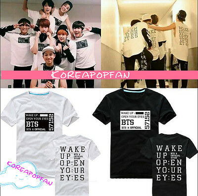 BTS jung kook wake up tour tee tshirt T-shirt Bangtan Boys unisex Kpop New