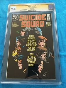 Suicide-Squad-1-1987-DC-CGC-SS-9-4-NM-Signed-by-John-Ostrander