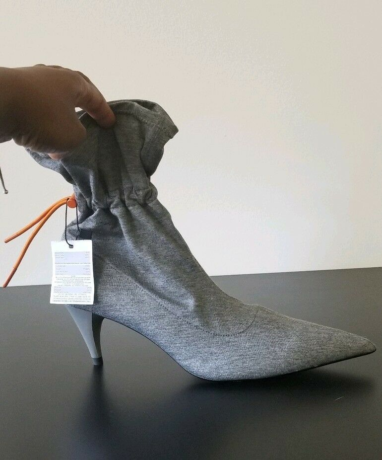 RARE!! NEW Zara drawstring booties size Eur 41/US 10