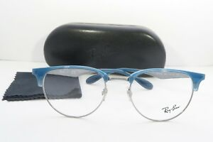 1faf1167ab Ray-Ban Blue Glasses New with case RB 6396 2934 51mm 740224351952