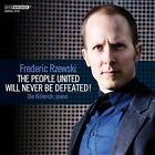 Frederic Rzewski: The People United Will Never Be Defeated! (CD, Dec-2012, Bridge)