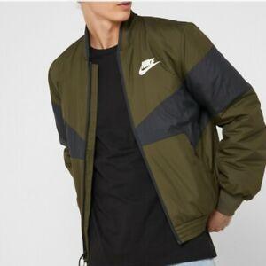 Détails sur Homme Nike Sportswear synthétique remplir manteau kaki noir CD9234 395 Taille S _ L _ XL _ XXL afficher le titre d'origine