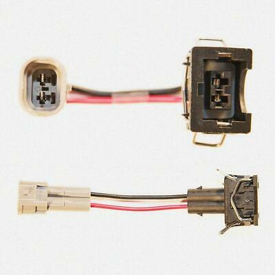 male - EV1 Bosch//Jetronic female Plug/&Play Injector Connector Denso Wired x4