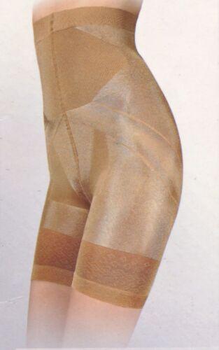 Damen Miederpants Push-Up Höschen Bauch-weg-Effekt 140 DEN S-XXL Hautfarbe