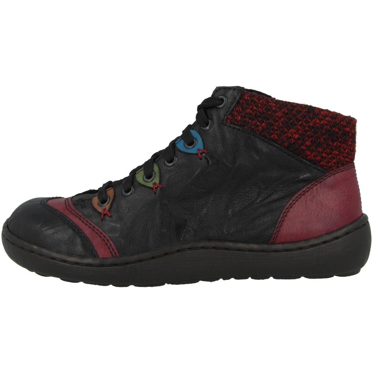 Rieker Massa-Eagle Schuhe Damen Antistress Stiefeletten Turnschuhe schwarz 44430-00