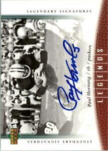 2006-Upper-Deck-Legends-Legendary-Signatures-26-Paul-Hornung-Auto-NM-MT
