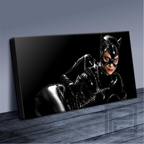 CATWOMAN MICHELLE PFEIFFER AMAZING BATMAN ICONIC CANVAS ART PRINT Art Williams01