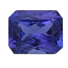 3.72ct Certified Tanzanite Natural Radiant Cut Loose Gemstone