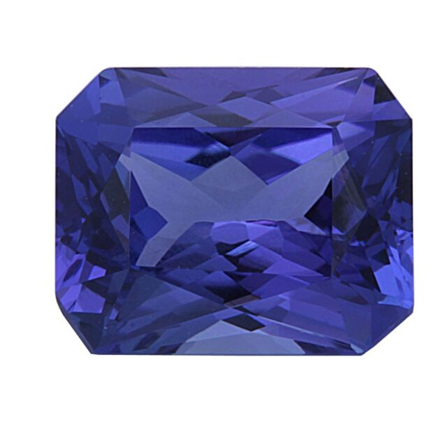3.72ct Certified Tanzanite Natural Radiant Cut Loose Gemstone