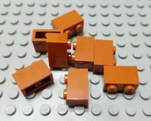 LEGO Lot of 25 Brown 1x2 Log Brick Pieces