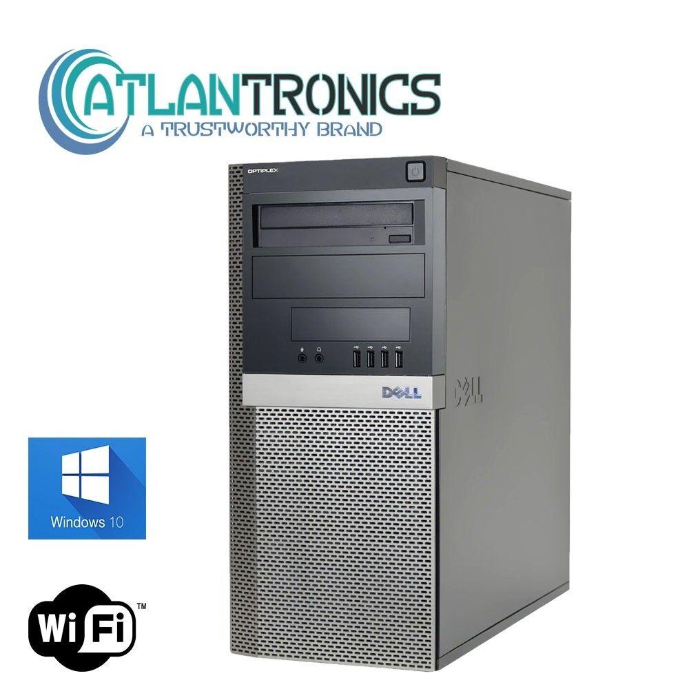 Dell Windows 10 Desktop Computer 1TB HDD | 8gb RAM | WiFi | 3.30ghz Processor