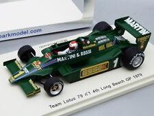 Lotus ford 79 mario andretti #1 long beach gp 1979 s1851 spark 1//43 f1 new