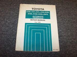 1988 toyota corolla service manua
