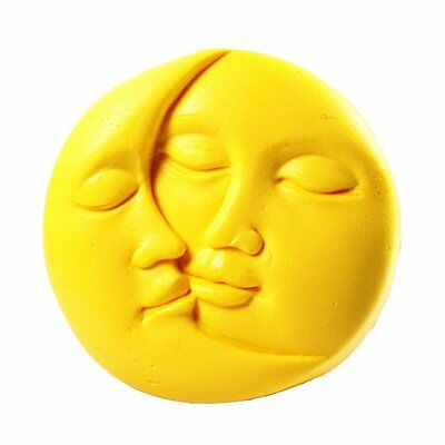 Sun&Moon Faces S323 Silicone Soap mold Craft Molds DIY Handmade soap mould