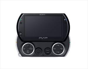 Sony-PSP-Go-Playstation-Portable-Go-Piano-Black-PSP-N1000PB-Console-Japan-NEW