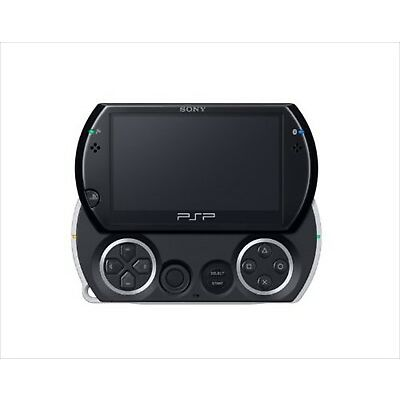 Sony PSP Go Playstation Portable Go Piano Black PSP-N1000PB Console Japan NEW