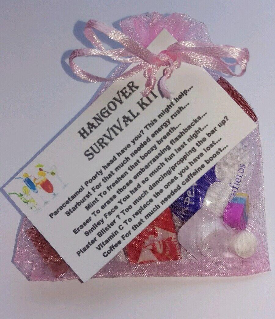 20 x Kit de supervivencia Hangover-Hen Noche Novia a a a Ser 18th 21st 40th Cumpleaños Fiesta 121c18