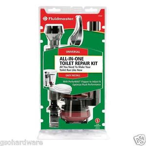 Fluidmaster 400akr Complete Toilet Repair Kit 39961341365