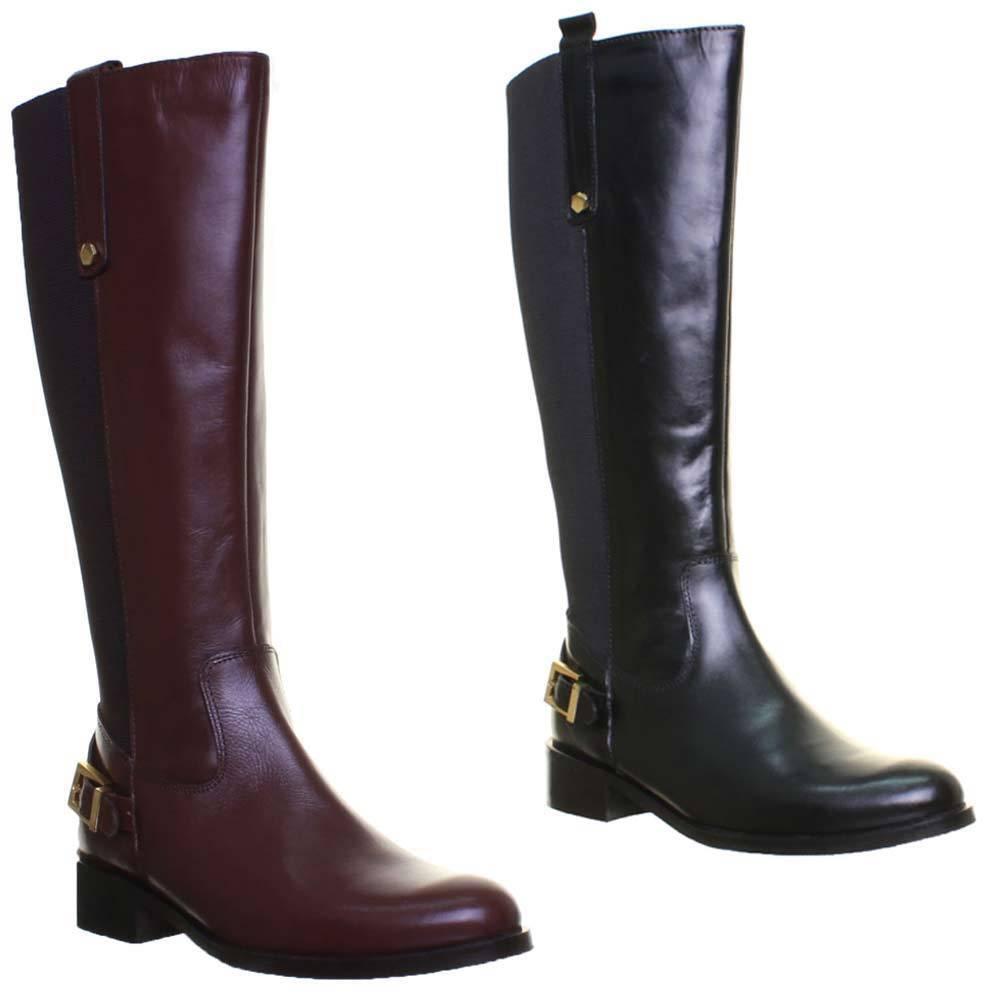 Justin Reece Charlotte Womens Leather Matt Boots
