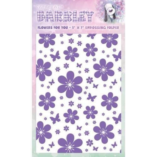 """Crafter/'s Companion Barkley 5 /"""" 7/"""" carpeta de flores para usted-bar-ef-flow"""
