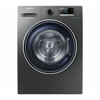 SAMSUNG ecobubble WW90J5456FX 9 kg 1400 Spin Washing Machine - Graphite - Currys