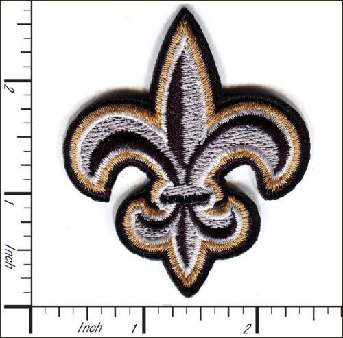 30 Pcs Embroidered Iron on patch Fleur De Lis Religious AP047eB