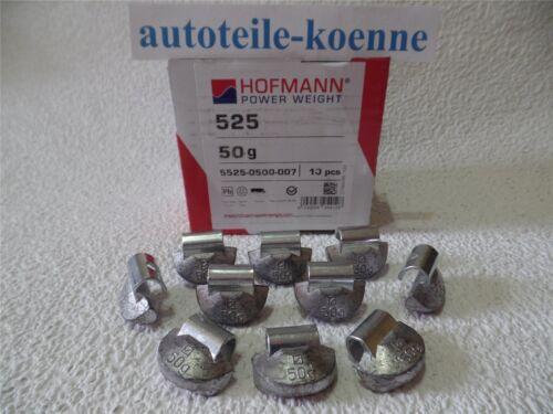 10x 50g Hofmann Masserelle di equilibratura tipo 525 piombo CAMION colpo pesi Acciaio Cerchioni