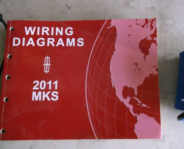 2011 Lincoln Mks Electrical Wiring Diagrams Service Manual