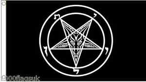Satan Satanic Flag 5'x3' Flag